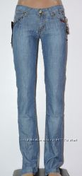 Модные Летние НОВЫЕ Джинсы, Девочка-подросток, котон, Рост от 148 до 168 см