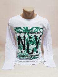 хлопок Новая Мужская футболка с длинным рукавом р 42, 44, 46, 48, 50