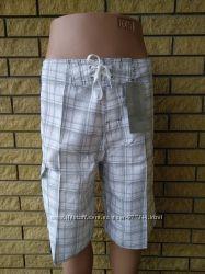 Новые Шорты, бермуды  мужские бренд, качество на липучке со шнуровкой
