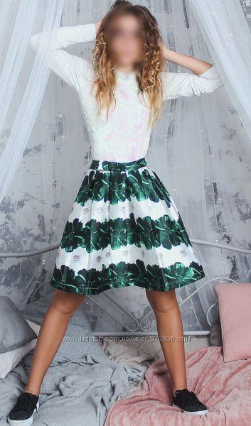 Красивая нарядная юбка плиссе от итальянского бренда GAIALUNA