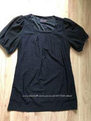 Красивая выбитая черная туника размер XL