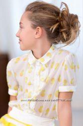 Нежная блуза в лимонах от TO BE TOO Италия
