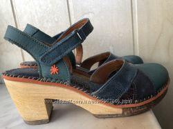 Туфли с открытой пяткой из натуральной кожи дизайнерский бренд Art Испания
