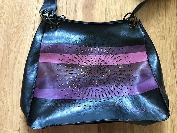 Восхитительная дизайнерская сумка от испанского бренда Desiguаl