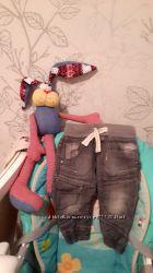Модные джинсы Next для любимого карапуза
