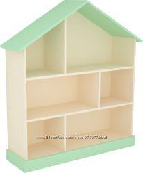 Домик - стеллаж для игрушек