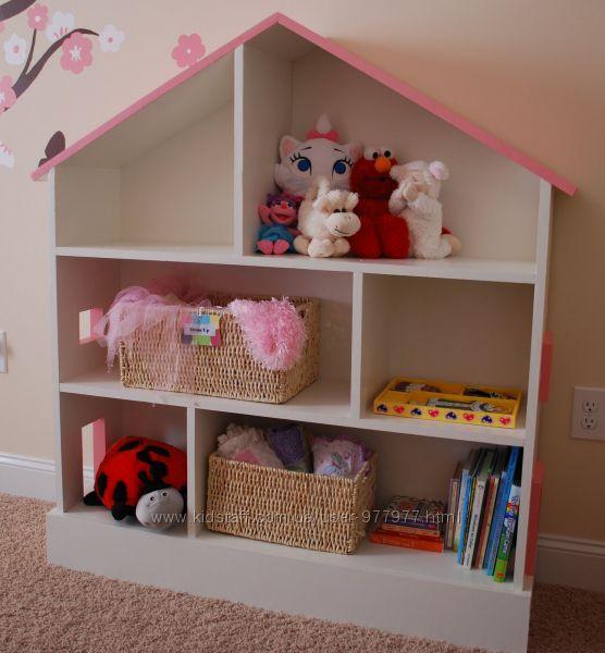 Как сделать домик для куклы в детской 284