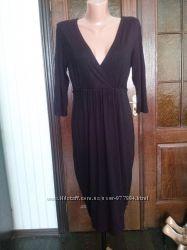 Трикотажное платье для беременной