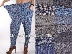Летние брюки галифе Баталы р 52-5860