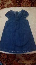 Платье джинсовое Mothercare 86 см. Только Донецк.