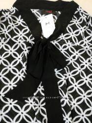 Женская блузка с бантом на шее. NEXT