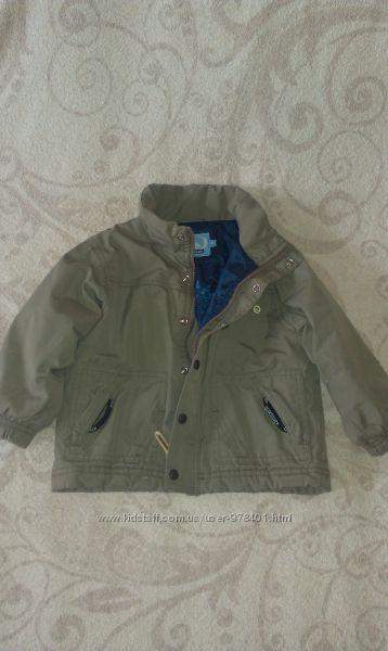 Демисезонная куртка на мальчика 2 лет