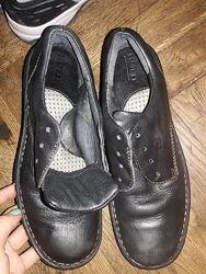 туфли,24см, кожа, в отличном
