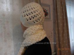 Теплый шарф и замечательная шапка