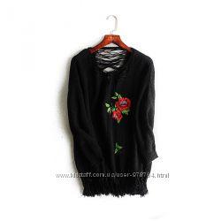 Стильный модный свитер