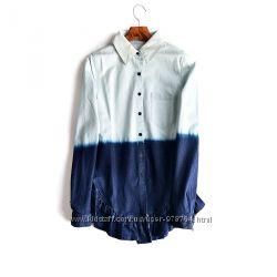 Стильная джинсовая рубашка