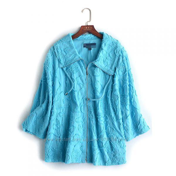 Курточка летняя на молнии