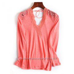 блузка очень красивая с кружевом