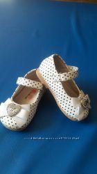 Туфли кожаные на девочку, р. 24, 13, 5 см, туфельки ТМ Calorie