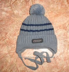 бу теплая шапка на флисе