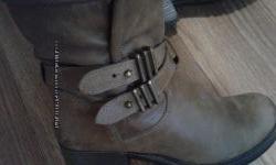 крутые фирменные ботинки кожа