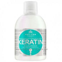 Шампунь для волос Kallos Keratin с кератином 1л Киев