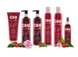 Новая линия для ухода за волосами CHI Rose Hip Oil.