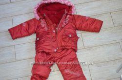 Польский зимний комбинезон Amadeo 86 р куртка и полукомбез
