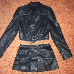 Куртка трансформер, натуральная кожа