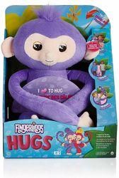Интерактивная обезьянка Fingerlings HUGS Kiki Оригинал