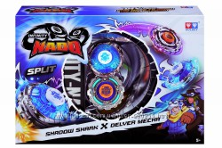 Оригинал Infinity Nado Shadow Shark & Delver Mecha, бейблейд