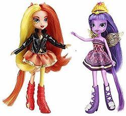 2 куклы My Little Pony Equestria Girls Сансет Шиммер и Твайлайт Спаркл