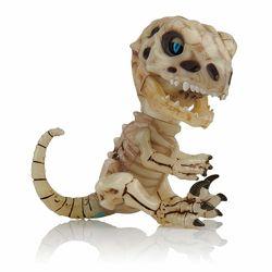 Оригинал Fingerlings Интерактивный скелет динозавра, Skeleton Raptor