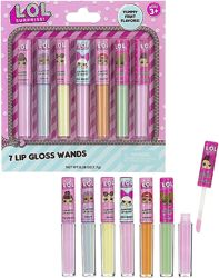 L. O. L Surprise 7-Pack Lip Gloss Набор блеск, бальзам ЛОЛ