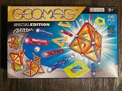 Оригинал Geomag Glitter 66 Piece Set Конструктор магнитный 66 дет