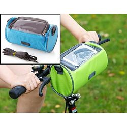 Велосумка на руль под смартфон, разные цвета