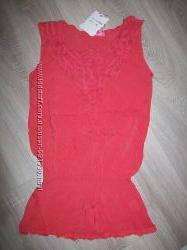 нежная ажурная блузка размер S Турция