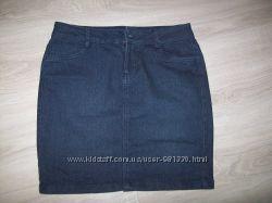 джинсовая юбка р-р 44