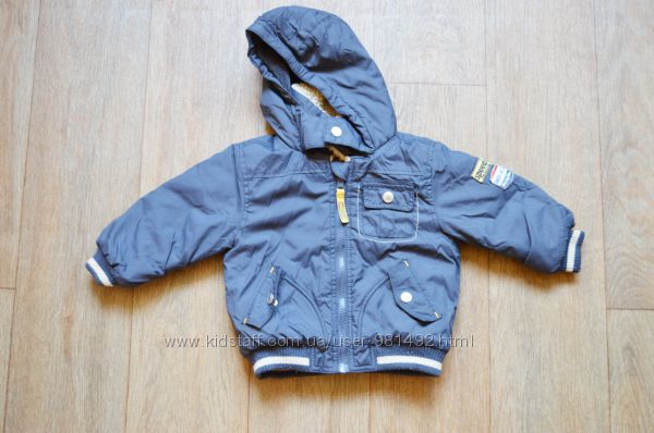 красивая куртка Baby club C&A на 80см