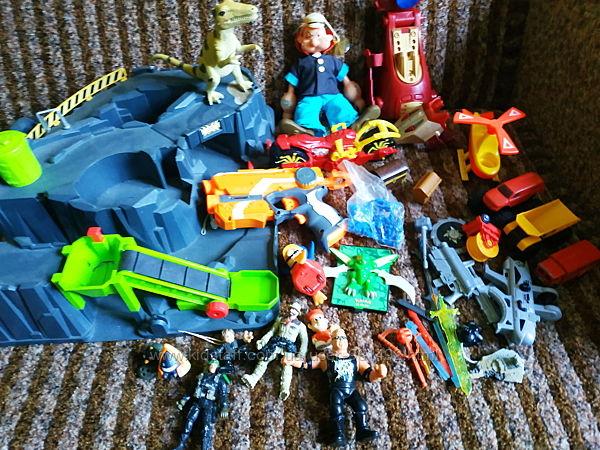 Лот фирменных игрушек для мальчиков, нерф nerf hasbro elc
