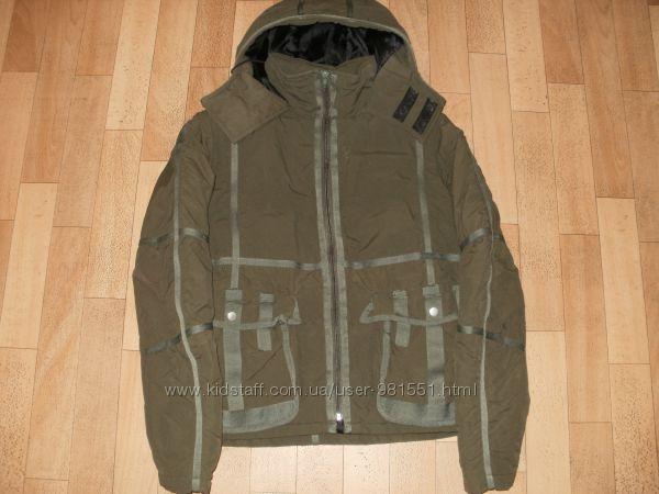 куртка осень б-у, размер S, M