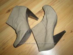 ботильены ботинки Flore 39 размер 25. 5 см стел.