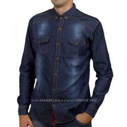 Senato, джинсоні чоловічі сорочки синього кольору, Туреччина