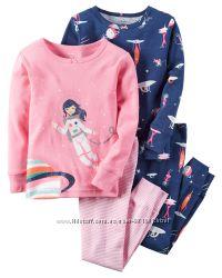 Пижамы детские на девочек 2-3-4-5-6 лет