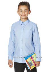 Школьные рубашки с длинным и коротким рукавом для мальчиков 9-10-12-14лет
