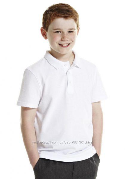 Школьные поло, футболки, майки на мальчиков 5-6-7-8-9 лет