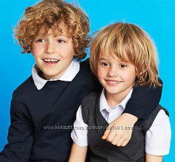 Школьная форма для маленьких мальчиков 6-7 лет - рубашки, поло, джемпера