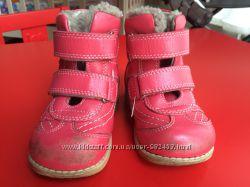 Зимние ботиночки 21 разм ORTOPEDIA