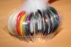Декоративные ленты для дизайна ногтей