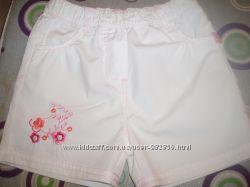 Бриджи, шорты, юбка на девочку летние, H&M 1-2 года